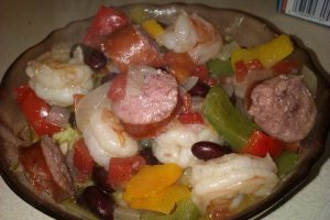 Creole Shrimp and Sausage Stew